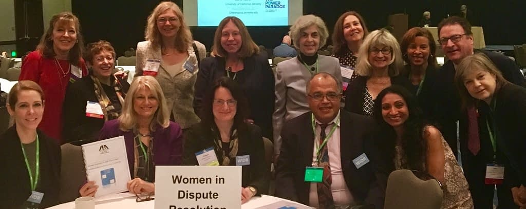 Photo of Women in Dispute Resolution members