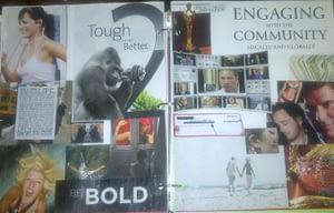 Photo of Nance's 2012 Vision Board